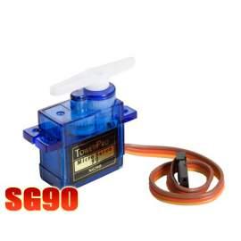 TowerPro SG90 szervó- 9g, servo, szervókarokkal, csavarokkal