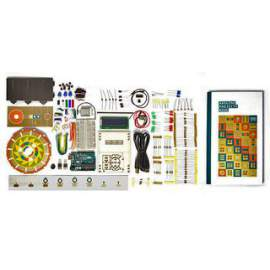 Starter Kit, Arduino UNO, Projects Book, Breadboard, Components Kit (Englis