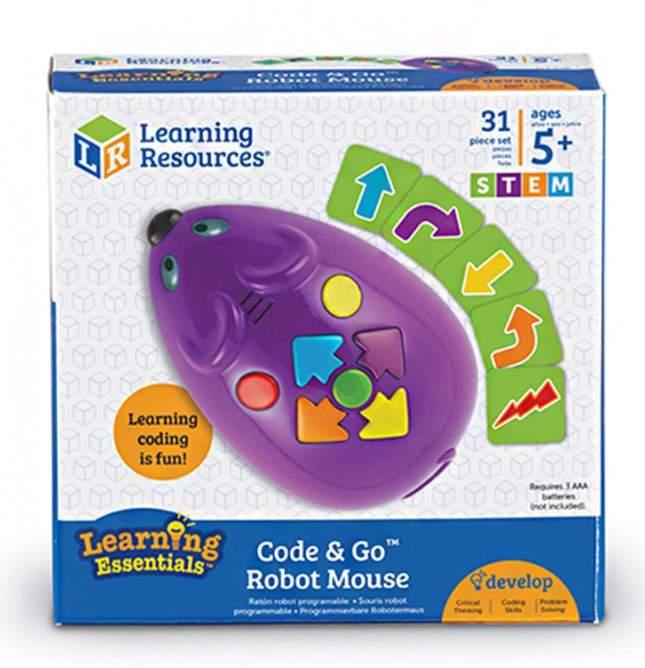 Code & Go robot egér