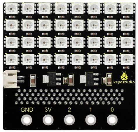 KS 4*8 LED mátrix