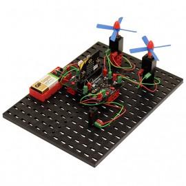 KT interfész kártya mikrobithez és Fischertechnikhez