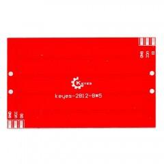 KS w2812-8 * 5 bites színes RGB M modul / 40 bites