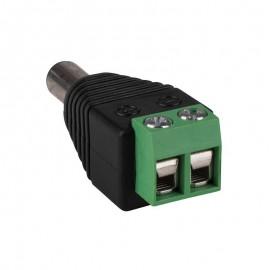DC dugasz (dugó) a csavaros sorkapocs adapterhez