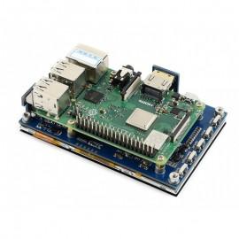 4.3 inch HDMI IPS LCD 800x480, Kapacitive érintőkijelző Raspberry PI-hez, audio kimenettel