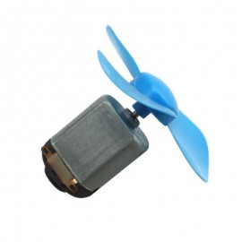 DIY 4 lapátos 56 mm-es motorcsavar (kék)