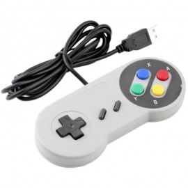 Klasszikus Retro Super Nintendo USB Gamepad