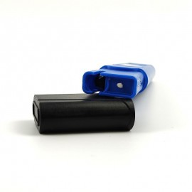 Hordozható pH-mérő LCD-kék színnel