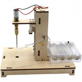 DIY fafúró 1-3 mm-es fa műanyag táblához