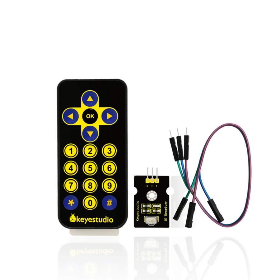 IR vezeték nélküli távirányító Arduino-hoz