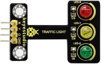 Közlekedési lámpa modul