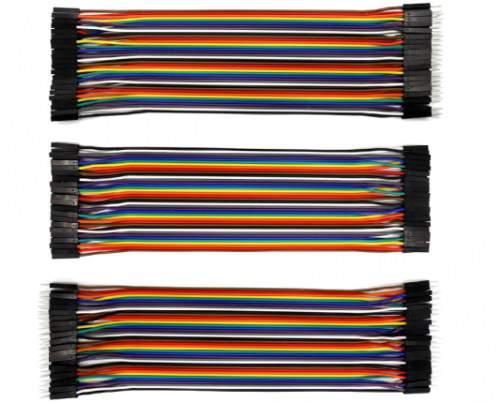KS jumper vezeték 20 cm-es csomag (MM, MF, FF)