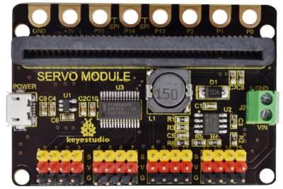 KS 16 csatornás SERVO vezérlő