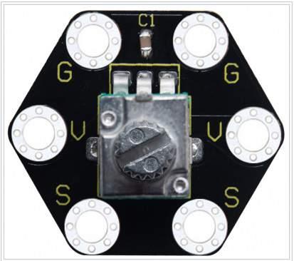 KS forgatható potencióméter