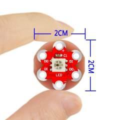 WS2812 RGB L ED modul a Lilypad
