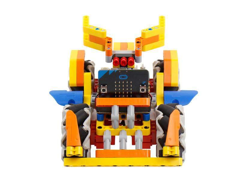 YB Omni:bit intelligens robotautó (Mecanum kerékkel)