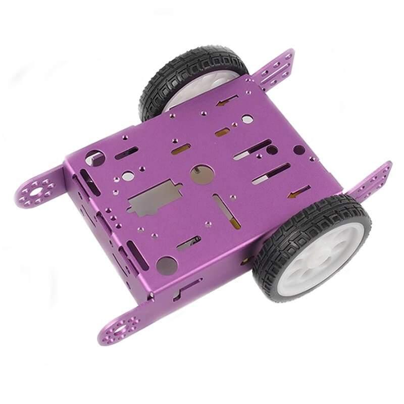 Alumínium 2WD TT robot / motorház - lila