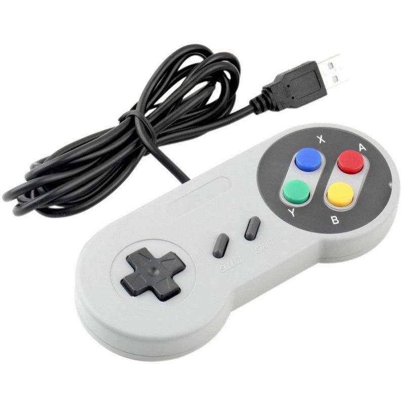Klasszikus Retro Super Nintendo USB Gamepad