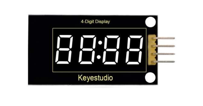 4 számjegyű LED kijelző modul TM1637